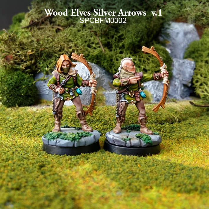 Wood Elf Silver Arrows - Spellcrow