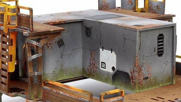 ZEN Show Off New Drowned Earth Shanty Town Terrain