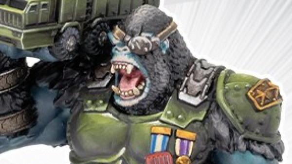 Apes Escape Into Privateer Press' Monsterpocalypse