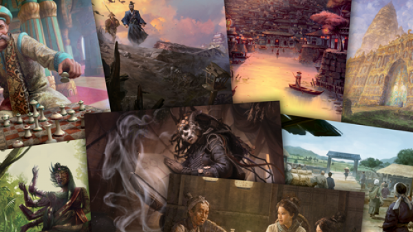Weave New Tales In L5R RPG Sourcebooks From FFG