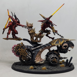 Works in Progress - Painting Shots Part 5 - Skull Cannon / Blood Throne