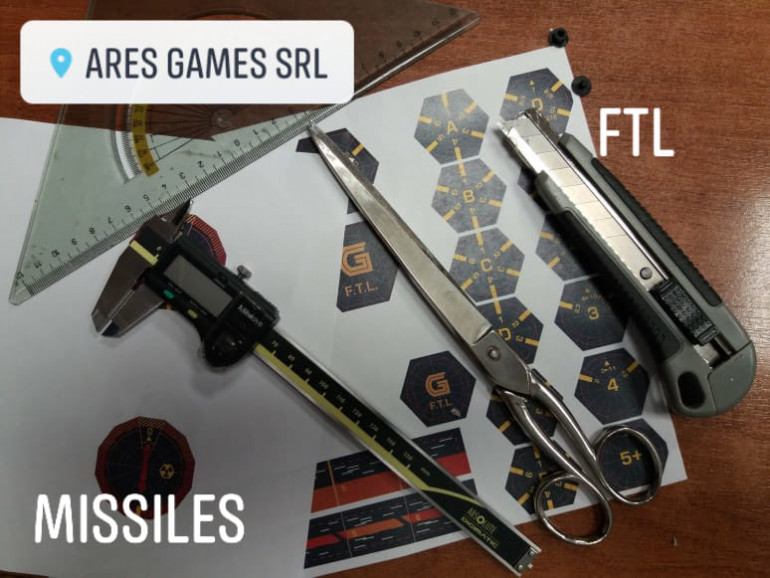 Sophisticated tech equipment is used in the development of Advanced FTL :-)