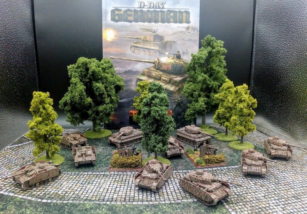 Flames of War Germans (Slow Grow League)