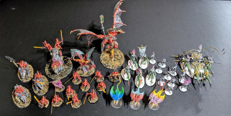 The demon army grows.... on with the madness of Tzeentch