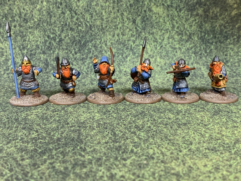 A mix of Oathmark, Conqueror and Mirliton miniatures.