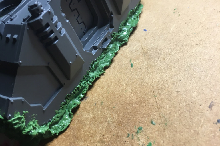 Started work on a Nurgle Rhino... you think I'd have more sense!