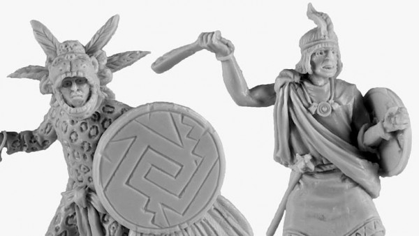 V&V Protect Their Homeland With 40mm Aztec Warriors