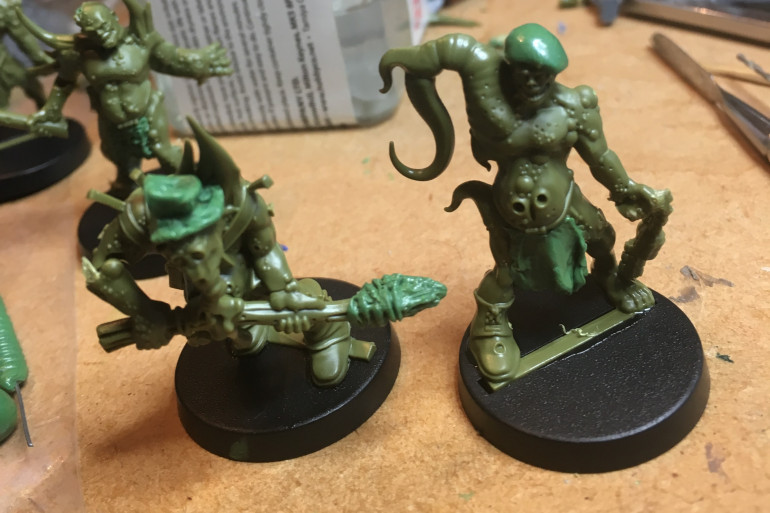 Pox-Walkers with hats