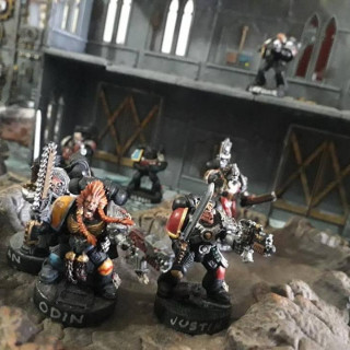 Warhammer 40K thru the ages to 8th!