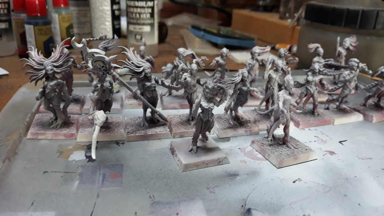 And two highlight coats of 'White Flesh'