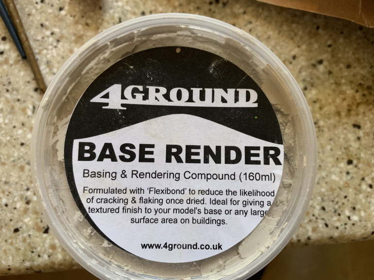 4Ground base render