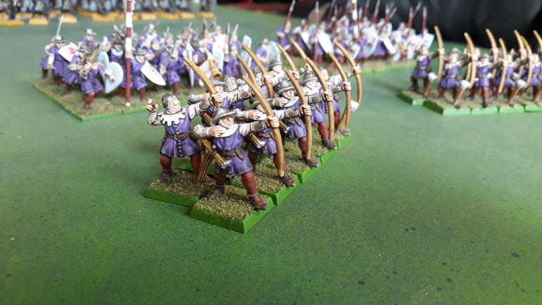 25(ish) year old starter box monopose plastic archers - still happy to see them on the tabletop