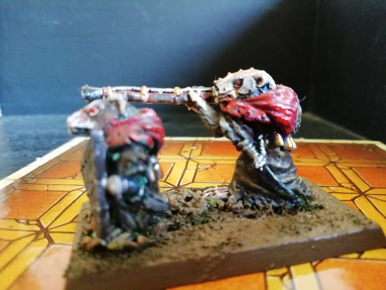 Skaven Weapon Teams sorted