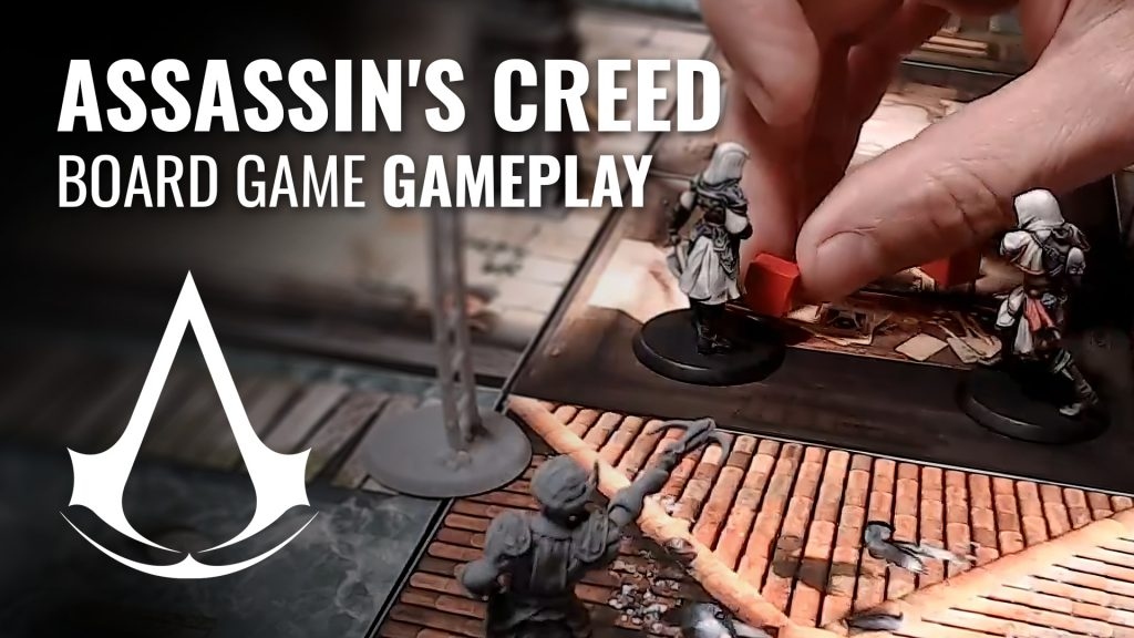 Assassin's Creed Board Game Gameplay Cover