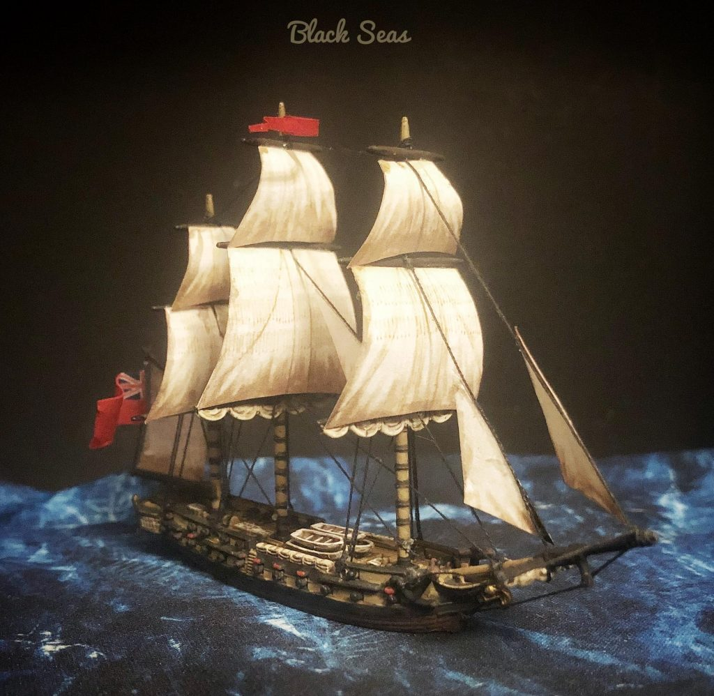 Black Seas Ship #1 by suetoniuspaullinus