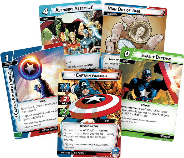 Captain America Card Fan - FFG