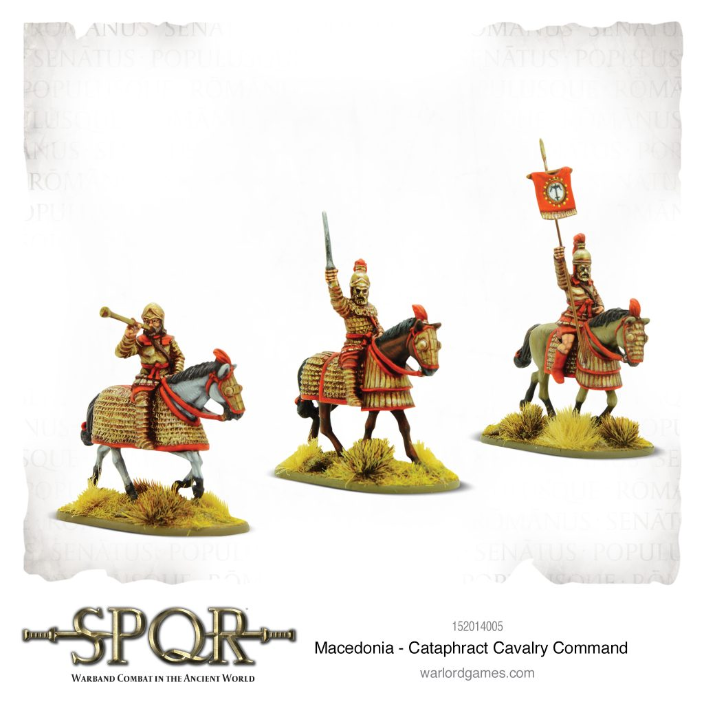 Cataphract Cavalry Command - Warlord Games