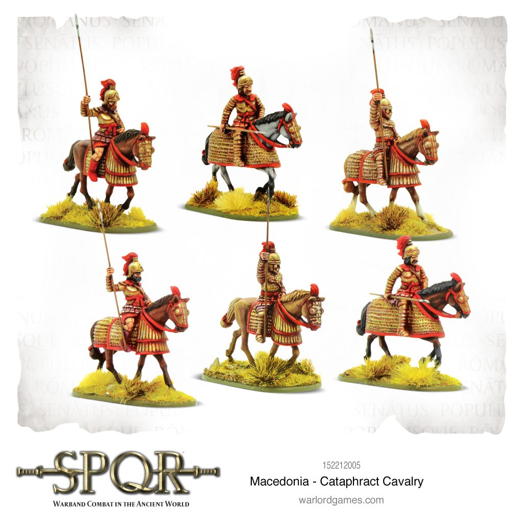Cataphract Cavalry - Warlord Games