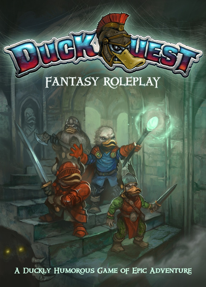Duckquest Fantasy Roleplay - Star Hat Miniatures