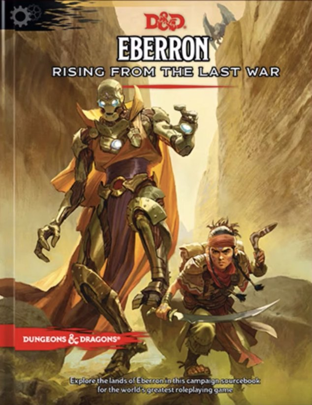 Eberron Rising From The Last War - Wizards Of The Coast