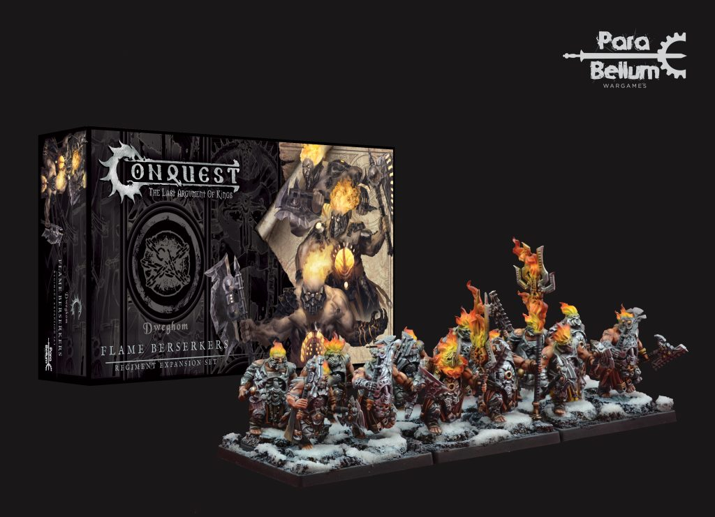 Flame Berserkers - Conquest
