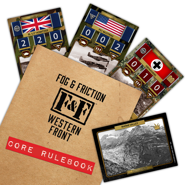 Fog & Friction Rulebook Cover & Cards - Warcradle