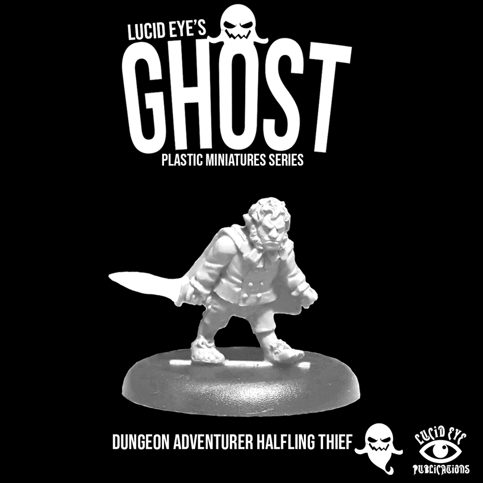 Ghost Halfling Thief #1 - Lucid Eye