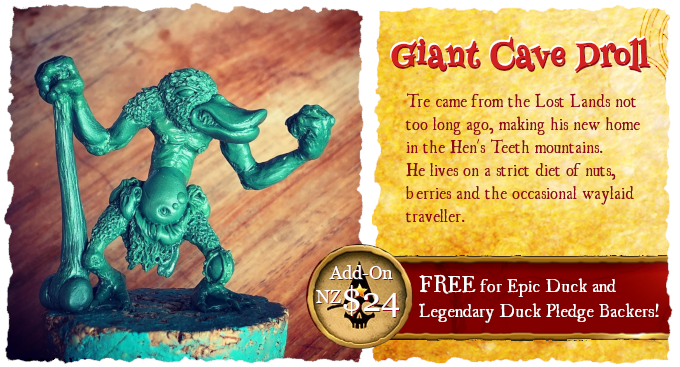 Giant Cave Droll - Star Hat Miniatures