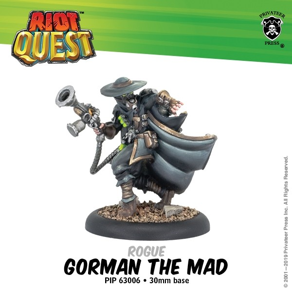 Gorman The Mad - Privateer Press