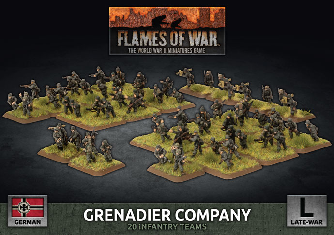 Grenadier Company - Flames Of War
