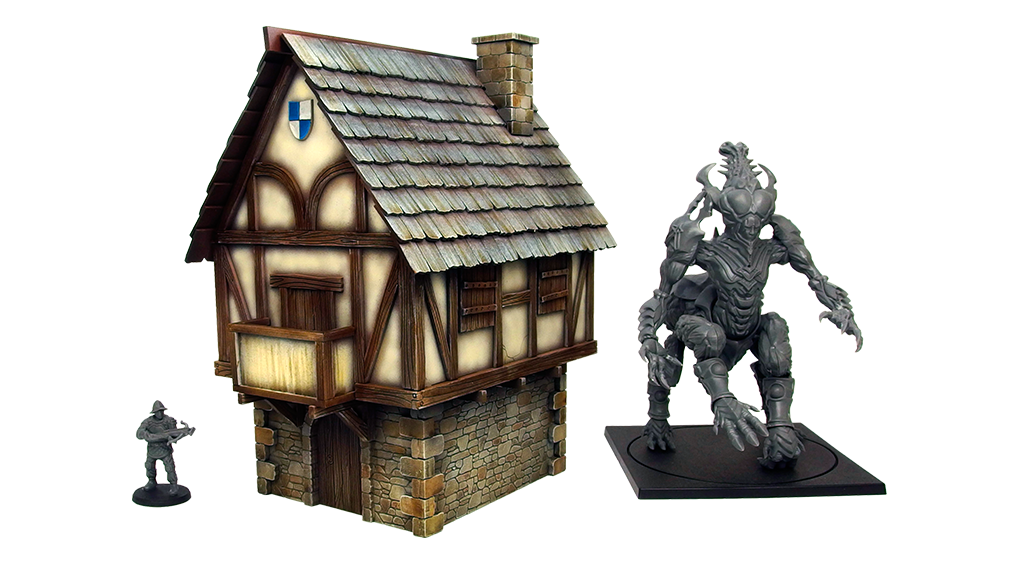 Hundred Kingdoms House Scale - Micro Art Studio