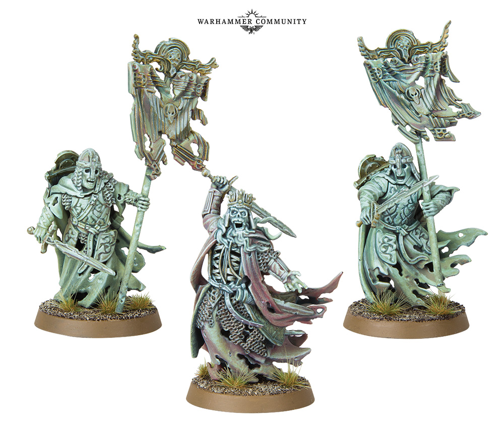 King Of The Dead & Banner Bearers - Games Workshop