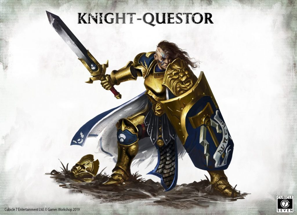 Knight Questor Art - Cubicle 7