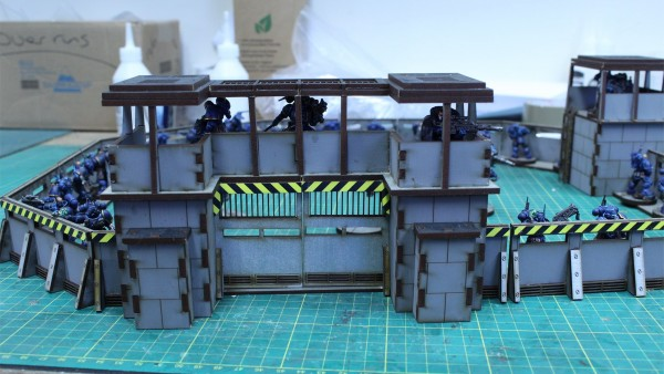 Lasercut Architect's Defensive Perimeter Expands At 4Ground