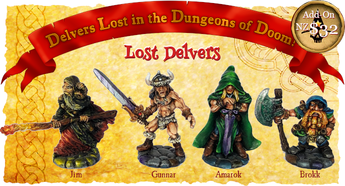 Lost Delvers - Star Hat Miniatures