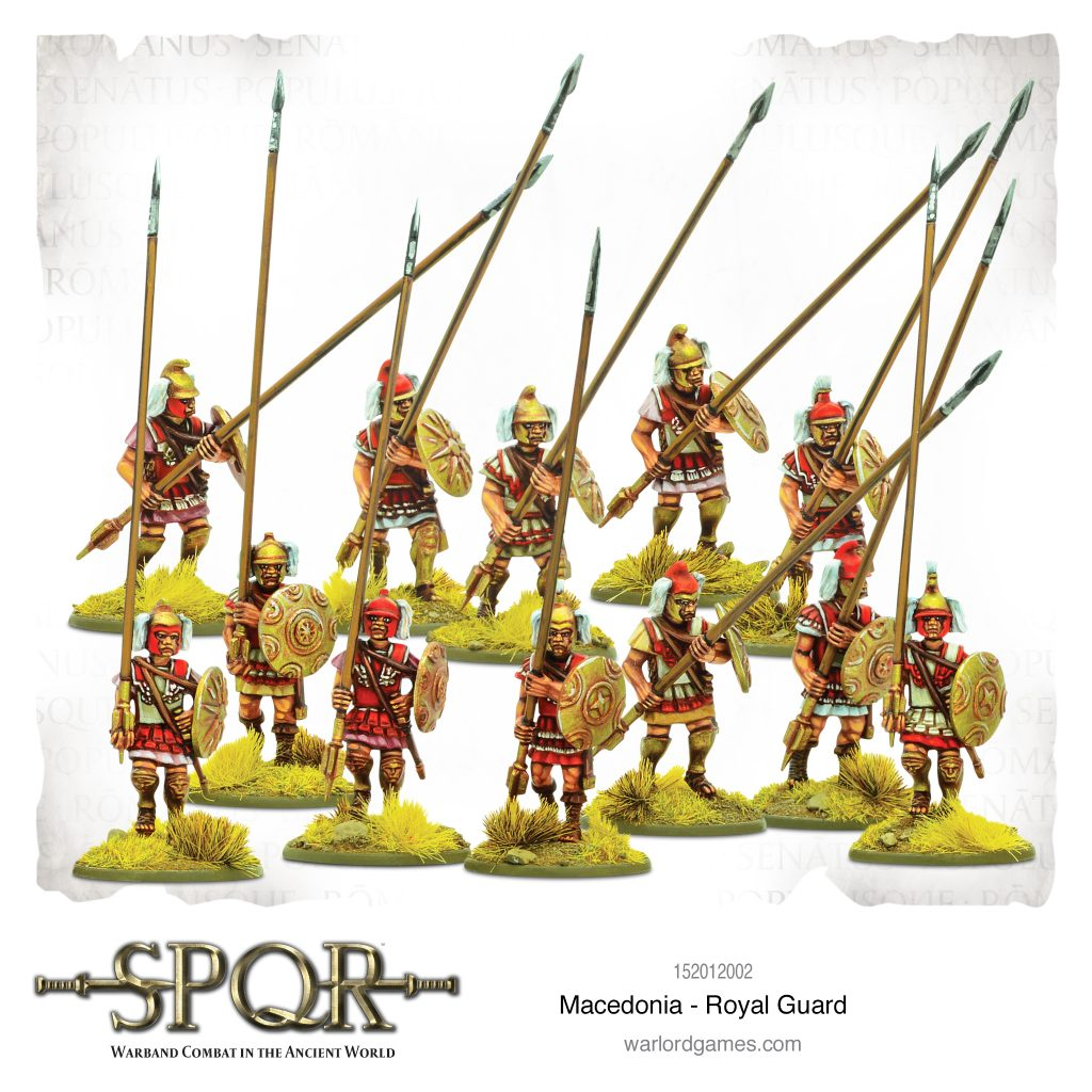 Macedonian Royal Guard - Warlord Games