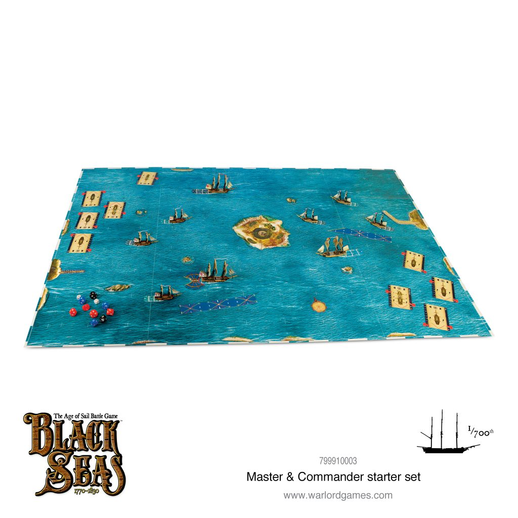 Master & Commander Starter Set Layout - Warlord Games