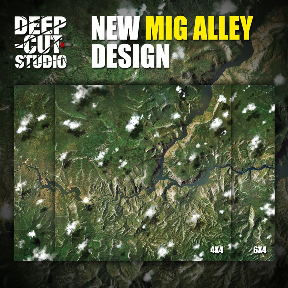 MiG Alley Mat - Deep-Cut Studio
