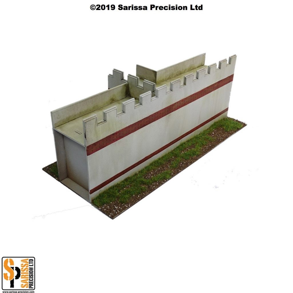 Mile Fort Wall Section - Sarissa Precision