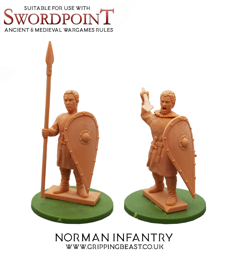 Norman Infantry - Gripping Beast