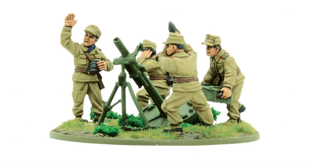 North Korean KPA Heavy Mortar Team - Warlord Games