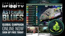 Infinity Campaign Join The Battle For Asteroid Blues – Finishes Monday!