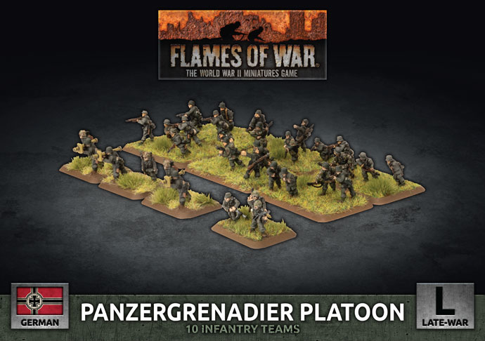 Panzergrenadier Platoon - Flames Of War
