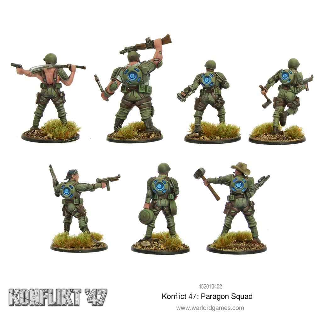 Paragon Squad (Alt) - Warlord Games