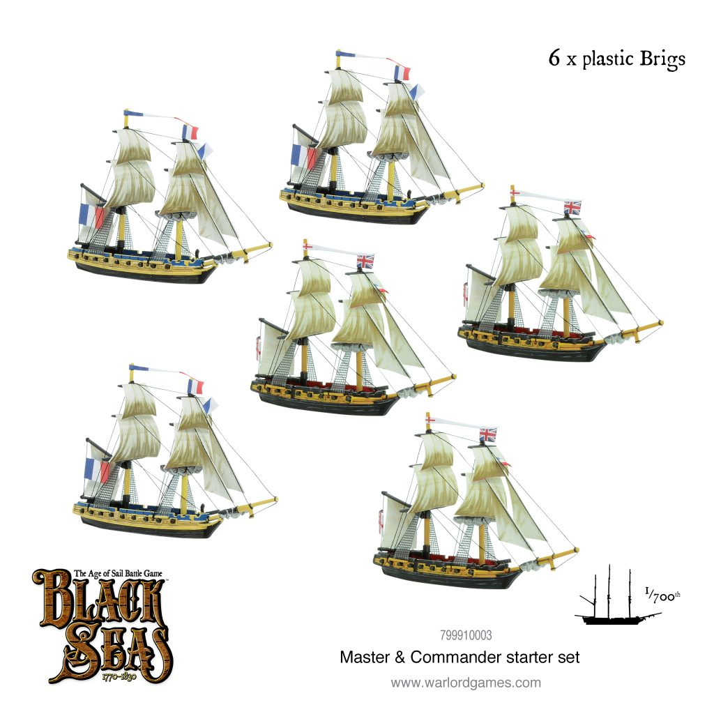 Plastic Brigs - Warlord Games