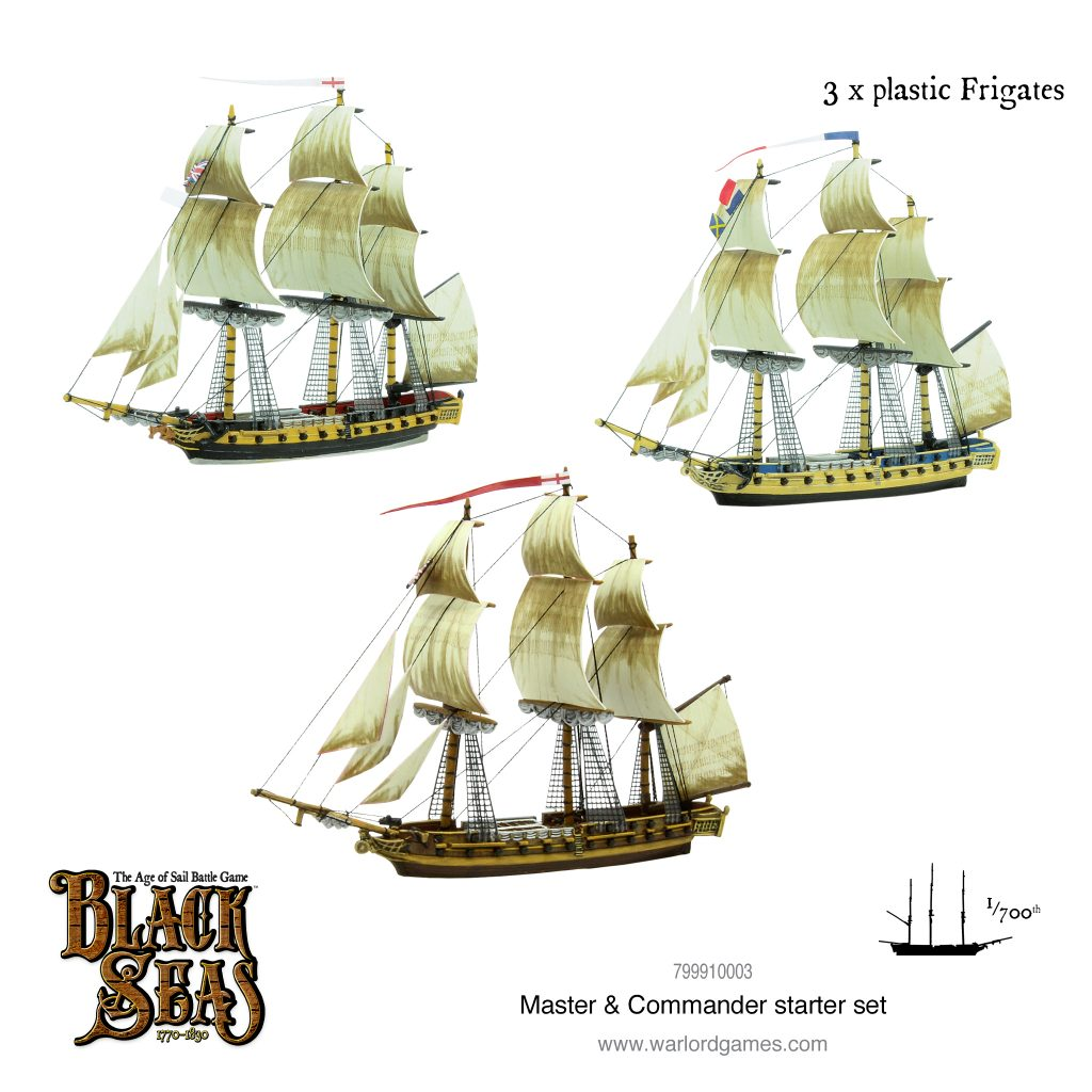 Plastic Frigates - Warlord Games
