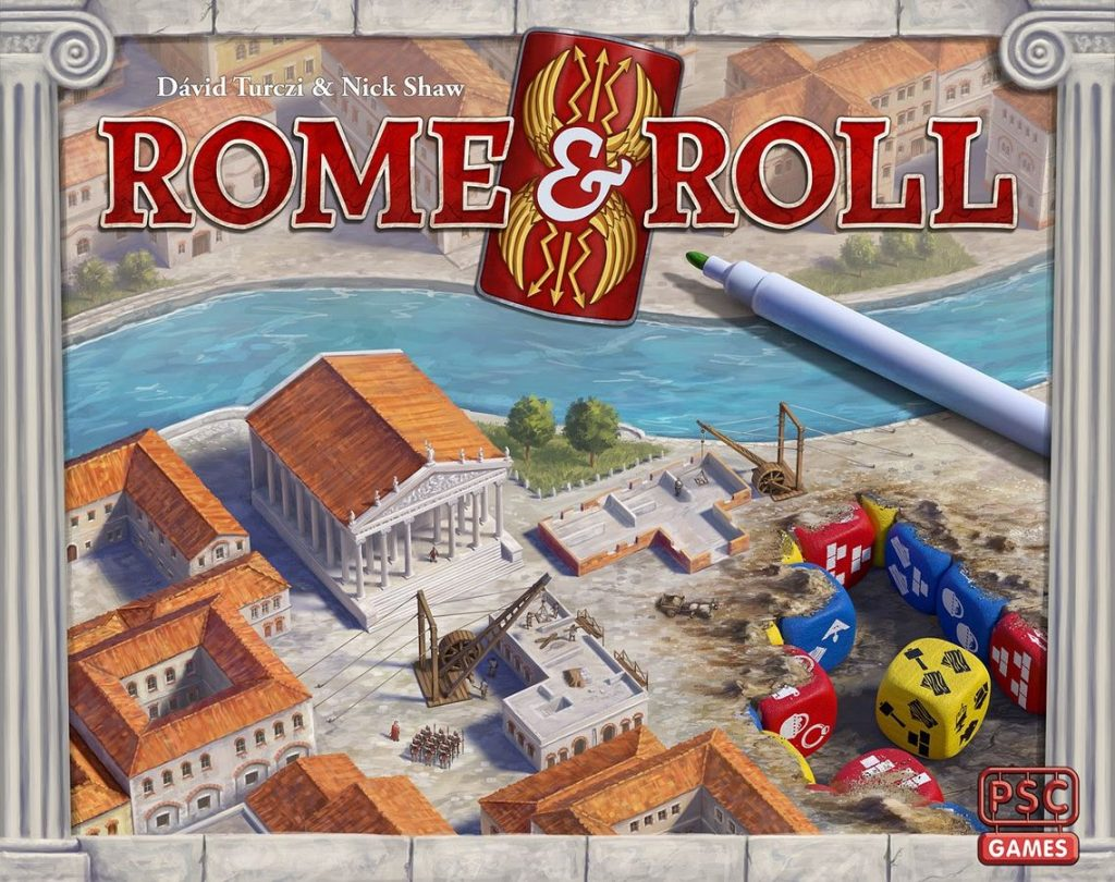 Rome & Roll Cover - PSC Games