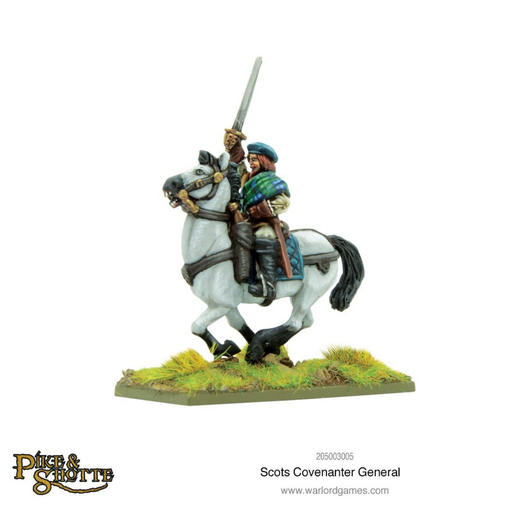 Scots Covenanter General - Warlord Games