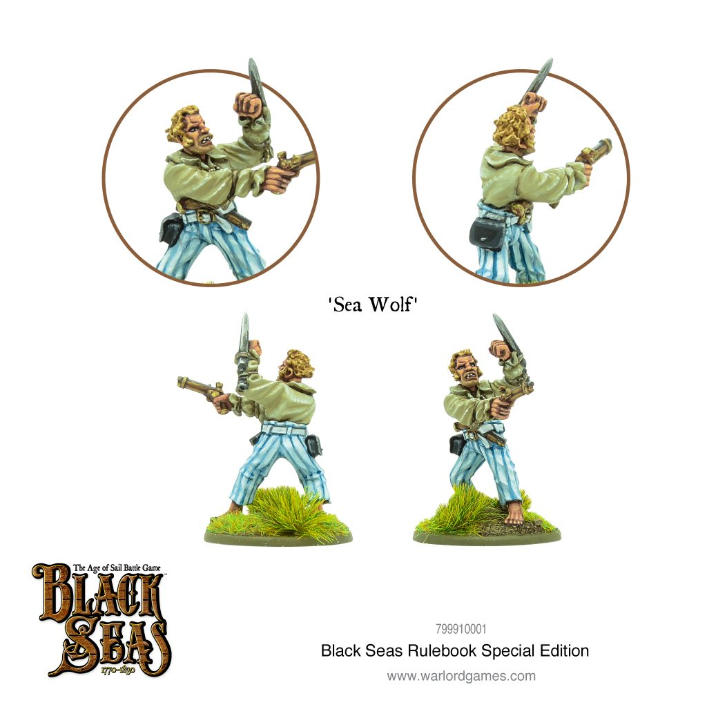 Sea Wolf Special Miniature - Warlord Games