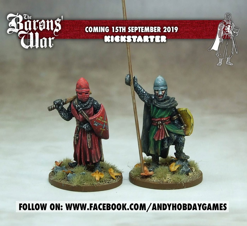 The Barons War Preview #3 - Andy Hobday Games